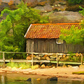 Painterly Images - Old Fisherman Cottage