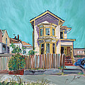 Asha Carolyn Young - Old House in East Oakland