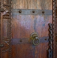 Liane Wright - Old Vintage Door With...