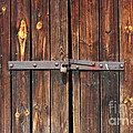 Kiril Stanchev - Old Wooden door locked...