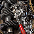 Old Wrenches On Gears by Garry Gay