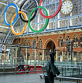 David Birchall - Olympic emblem in London