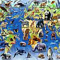 One Hundred Endangered Species by Adrian Chesterman