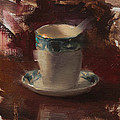 Karen Whitworth - One More Cup Teacup...