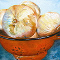 Timi Johnson - Onions in a Colander