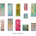 Asha Carolyn Young and Daniel Furon  - Painted Doors and Window...