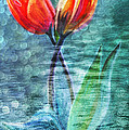 Angela A Stanton - Painted Tulips for...