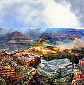 Bob and Nadine Johnston - Painting The Grand Canyon