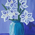 Iamthebetty   - Paper Whites in a Blue...