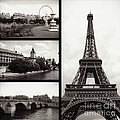 Carol Groenen - Paris Collage - Black...