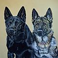 Ann Marie Chaffin - Pastel Portrait of Two...