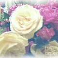Luther   Fine Art - Pastel Roses