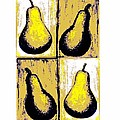 Pears- Warhol Style by C Fanous