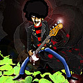 Kev Moore - Phil Lynott of Thin Lizzy