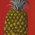 Darice Machel McGuire - Pineapple on Red