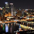 Frozen in Time Fine Art Photography - Pittsburgh Night Panorama