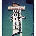 Jane Linders - Polaroid Transfer Motel