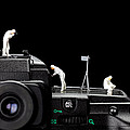 Police Investigate On A Camera by Paul Ge