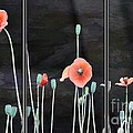 Yumi Johnson - Poppy Triptych