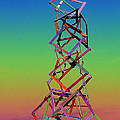 Monica Withers - Popsicle Stick Tower
