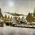 Ian Mitchell - Priory in the Snow
