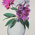 Asha Carolyn Young - Purple Azalea Spring...