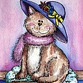 Danise Jennings - Purple Hat Cat