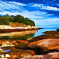 Bill Caldwell -        ABeautifulSky Photography - Quiet Cove at Great Wass...