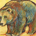 Carol Suzanne Niebuhr - Rainbow Bear Grizzly Bear