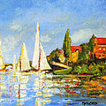 Marti Green - Recreation of Boating at...