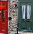Juergen Roth - Red and Green Doors of...
