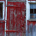 Paul Ward - Red and Weathered Door