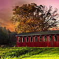 Debra and Dave Vanderlaan - Red Covered Bridge