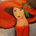 Cheryl Bowen-Hance - Red Hat and Roses