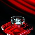 M and L Creations - Red Perfume Bottle