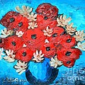 Ramona Matei - Red Poppies and White...