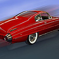 Thomas Woolworth - Red Super Fastback Car