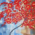 Michelle Pope - Red Tree