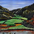 Ana Lusi - Rice valley acrylic