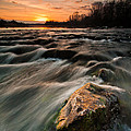 River Sunset by Davorin Mance