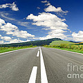 Road And Beautiful Sky by Boon Mee