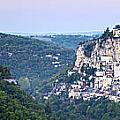 Rocamadour Midi Pyrenees France Panorama by Colin and Linda McKie