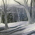 Gretchen Allen - Rock Ridge Snowscene