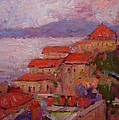 R W Goetting - Rooftops of Monemvasia