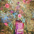 Sandra Selle Rodriguez - Roses and Fire Hydrant