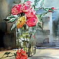 Mindy Newman - Roses for Manet