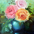 ILONA ANITA TIGGES - GOETZE  ART and Photography  - Roses in Vase