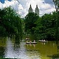 Rowboats Central Park New York by Amy Cicconi