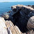 Catherine Gagne - Rugged Coastline in Maine