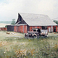 Richard Hahn - Rusty Truck and Barn